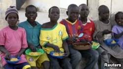 Children, Displaced by Boko Haram, Listen to Radio Lessons