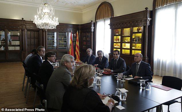 Thế giới - World Catalonia accused the European Union