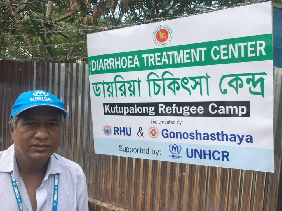 Thế giới - World Efforts to contain an outbreak of diarrheal diseases among Rohingya refugees