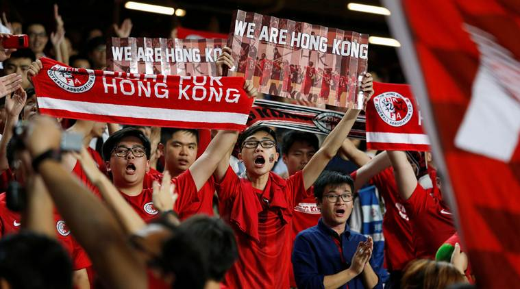 Thể thao - Sports Chinese anthem law extended to Hong Kong