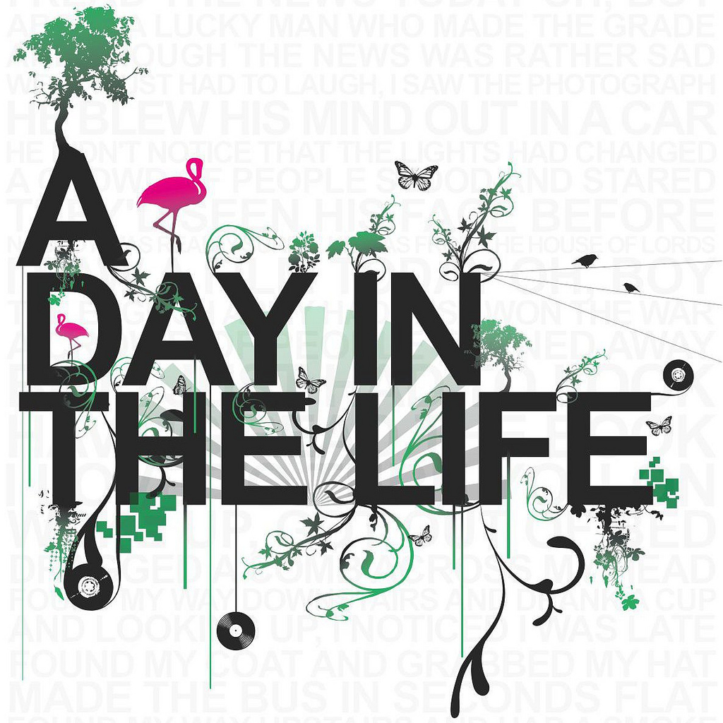 A DAY IN THE LIFE OF... - READING & WRITING 2
